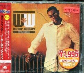 *還有唱片行* WAYNE WONDER / NO HOLDING BACK 全新 Y7642 (殼破)