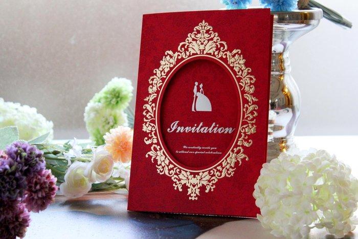 『潘朵菈精緻婚卡』影像設計喜帖 ♥ 立體浮雕18元喜帖系列 ♥ 喜帖編號: HC-00686╭*
