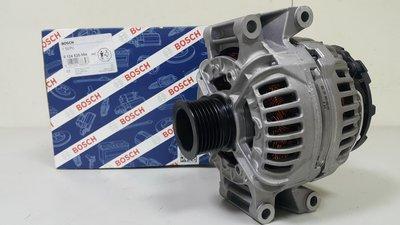 BENZ W211 M272 E280 E350 07- 150A 發電機 (BOSCH製全新品) 0141543002
