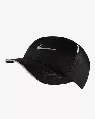 【R.T.G】NIKE W DRY AROBILL FTHLT CAP RUN 帽子 黑色 慢跑 AR2028-010