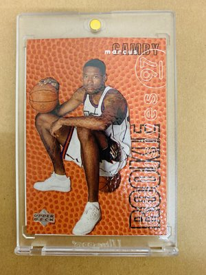 1996-97 Upper Deck Rookie Exclusives #R5 Marcus Camby球皮卡、新人卡