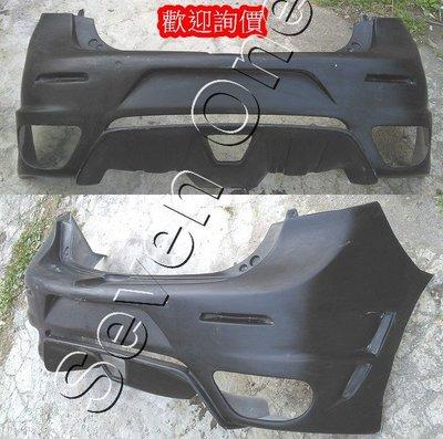 ☆ SEVEN ONE ☆  MAZDA3 馬3 手工 F430 後保桿 (5門-5D) 10-12年