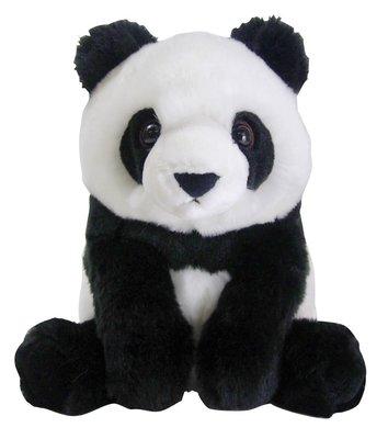 【晴晴百寶盒】日本進口熊貓娃娃 毛絨絨可愛Q版熊貓玩具 小朋友小孩娃娃 益智遊戲玩具 CP值高 生日禮物禮品 J026