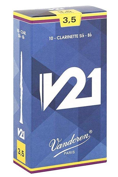♪ 后里薩克斯風玩家館 ♫『法國 VANDOREN V21 竹片』 / Bb Clarinet 豎笛用