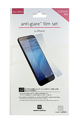 公司貨 日本進口 POWER SUPPORT iPhone 6 Plus 5.5 Anti-glare 螢幕保護膜 霧面