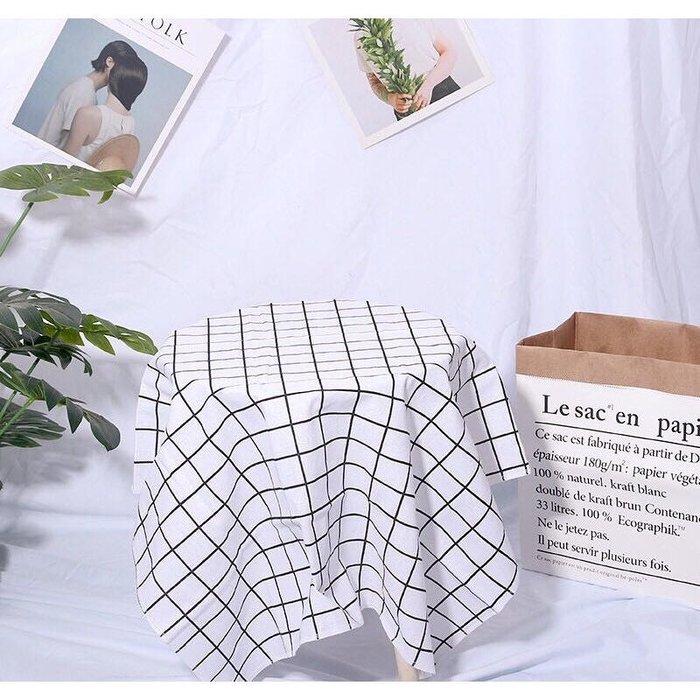 方塊 方格 桌巾 桌布 黑白格 美食攝影 網拍 ins IG 拍照 道具 裝飾布 背景布