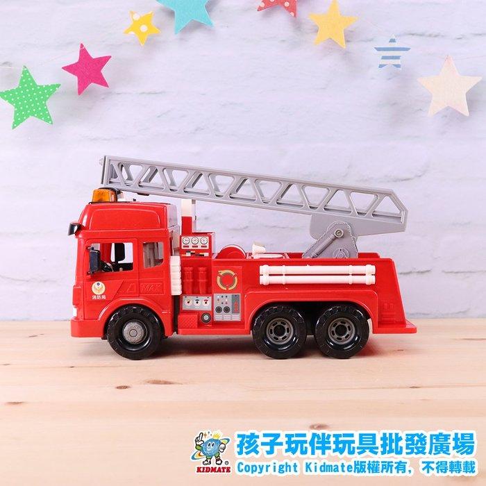 磨輪直線雲梯車.台灣好車隊.消防系列.磨輪車.仿真.孩子玩伴