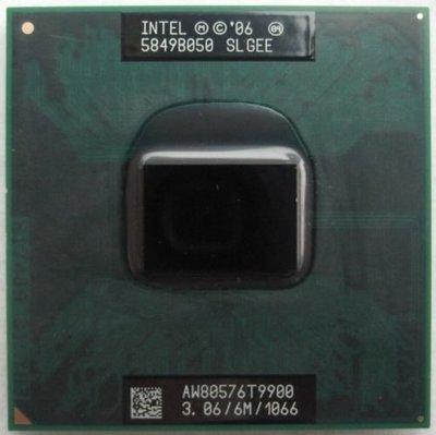 頂級 Intel Core 2 Duo 3.06GHz CPU T9900 正式版PGA478 SLGEE