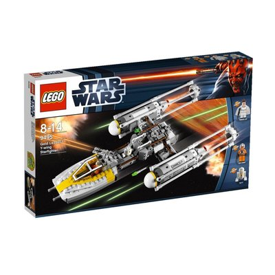 全新樂高 Lego 9495 Gold Leader's Y-wing Starfighter StarWars 星球大戰