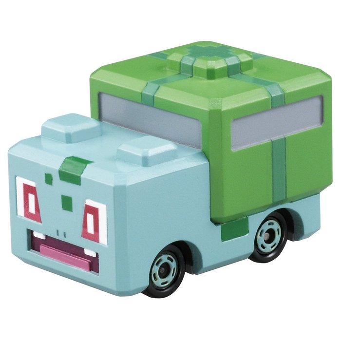 【HAHA小站】麗嬰 日本 TOMICA 神奇寶貝 PQC-02 妙蛙種子探險車 精靈寶可夢 多美小汽車 PC61519