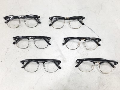 {FADE.MEET} 限時特價 歐美復古眼鏡 銀邊 金邊 鏡框  情侶 男女