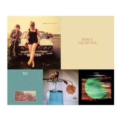 現貨 專輯 套售 全新未拆 Beirut 貝魯特樂隊 古拉格之旅 浪跡潮水 Gallipoli LNZNDRF CD