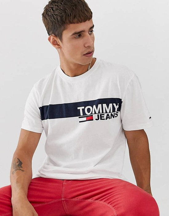 【BJ.GO】 Tommy Jeans essential t-shirt  LOGO T恤
