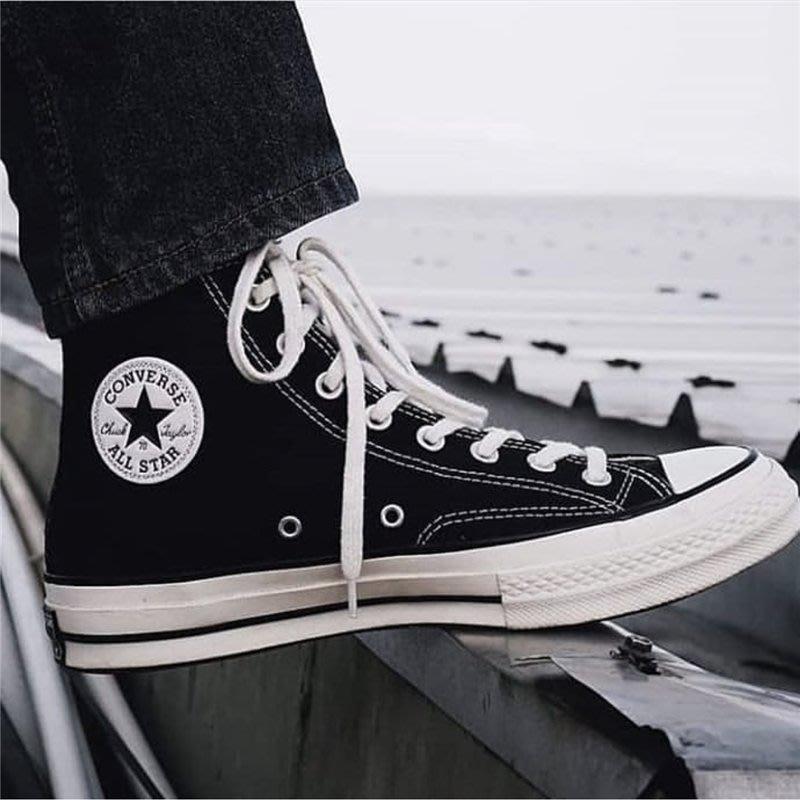 南◇2020 7月 CONVERSE CHUCK TAYLAOR 1970s All Star 162050C 黑色高筒