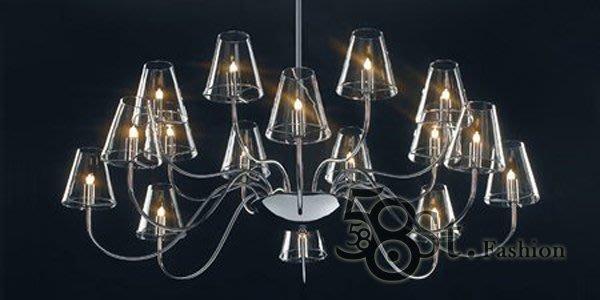【58街】義大利設計師款式「米蘭新款式吊燈」複刻版。GH-157