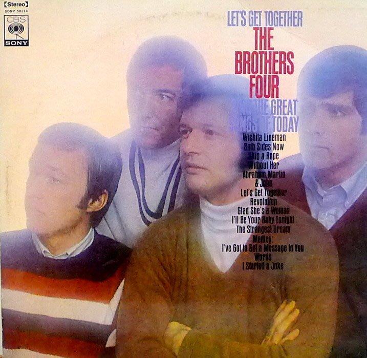 §小宋唱片§ 日版/ The Brothers Four-Lets Get Together /二手西洋黑膠