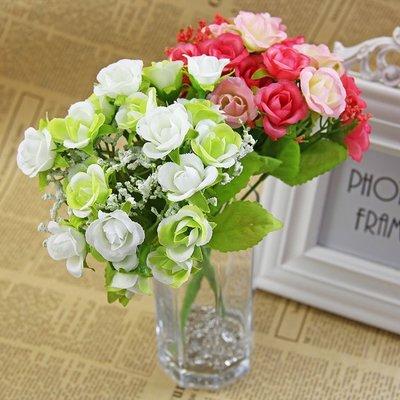 仿玫瑰花束 假玫瑰花 仿花束 拍照攝影道具 婚禮簽到處佈置 新娘捧花DIY 自助婚紗攝影 人造花材 AC23 賽娜時尚