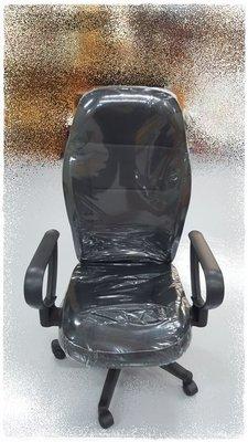 二手家具宏品 台中全新中古傢俱 EA1111AJE2 *全新黑色電腦椅 書桌椅 升降辦公椅* 會議桌椅拍賣 麻將桌椅