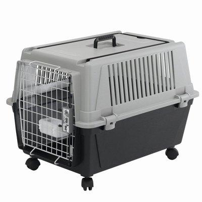 【優比寵物】義大利飛寶ferplast-(雅特-40型)航空.海運.陸運專業運運輸籠/提籠/寵物籠/手提籠/外出籠//-