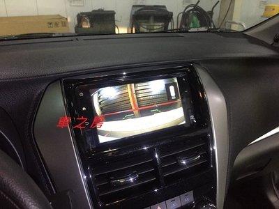 (車之房) TOYOTA VIOS YARIS 支援GARMIN原廠主機 選配 倒車影像 倒車鏡頭 安裝 距離標線