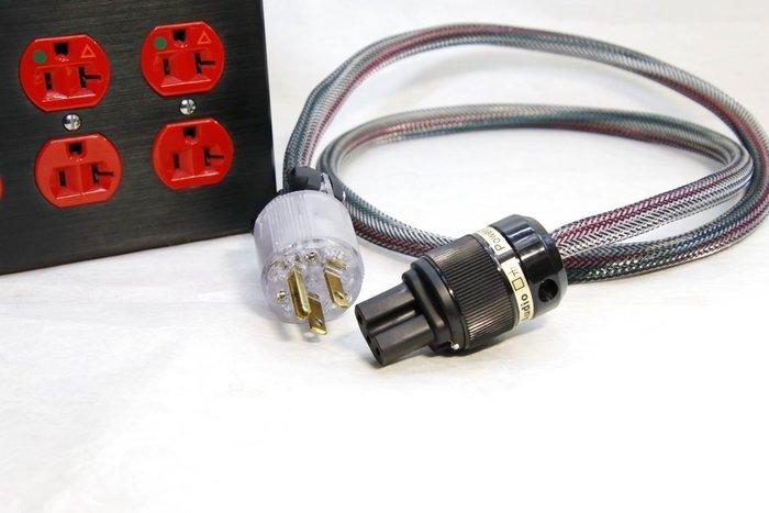 [山姆音響]音響電源排插專用電源線--美國美廠美製Carol原銅線AWG10-03 /1米/有地線