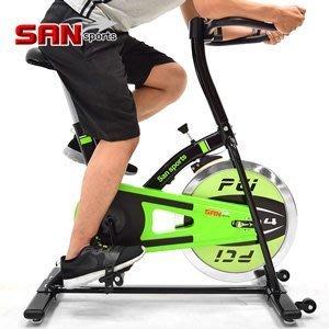 【推薦+】SAN SPORTS M4神采10KG飛輪健身車C165-010 2.5倍強度10公斤飛輪車運動健身器材推薦