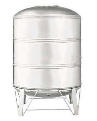 【工匠家居生活館 】 不鏽鋼水塔 500 型 304#白鐵 附腳架(直徑70x高152cm) 厚度0.6 mm