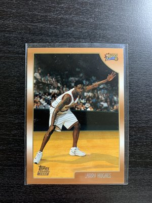 Larry Hughes Topps RC 新人卡 Rookie Card