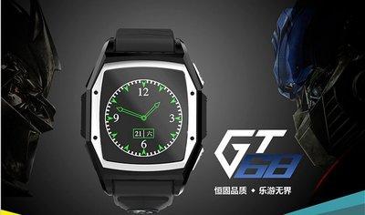 現貨批發 gt68 三防智能手錶手機 GPS定位 通話 可測心率 防水922