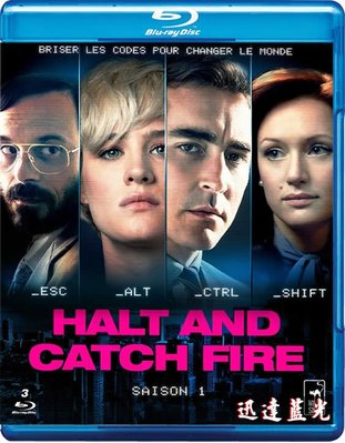 25G任選5套999含運!電視劇-T716奔騰年代第一季Halt and Catch Fire Season 1(2014)(4BD)