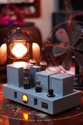 (已全數售完)  愛迪聲 Edison Audio 工業風外型 2A3 / 45 真空管擴大機