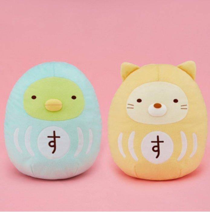 41+ 現貨免運費 日本景品 日空版 角落生物 企鵝 貓咪 兩款 大型 絨毛玩偶 聖誕 禮物 擺飾 小日尼三