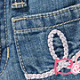 【B& G童裝】正品美國進口OLD NAVY裙襬邊牛仔短裙12-18-24mos