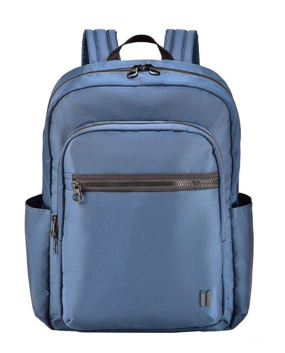 SUMDEX 14吋+平板時尚彩色商務休閒雙肩電腦包 NON-530BU碧藍