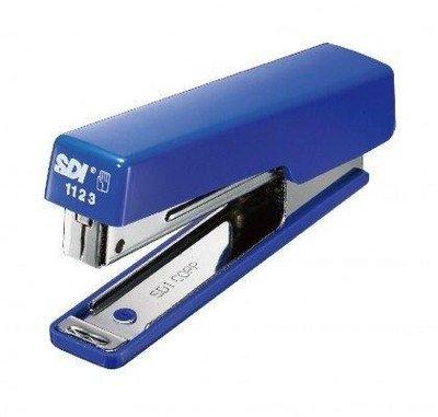 手牌 SDI 雙排高效型訂書機 (1123B) 雙排釘書機、單次可訂70磅紙16張;可放100支訂書針、特價 46 元