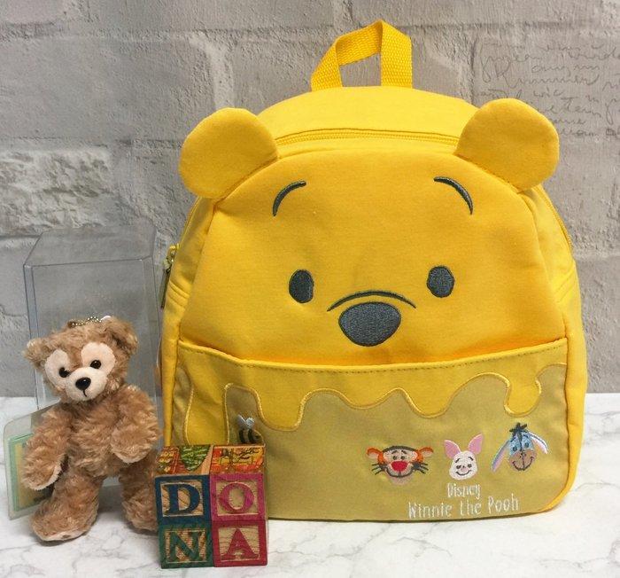 【Dona日貨】日本迪士尼store限定 小熊維尼Pooh小豬跳跳虎伊耳 後背包/兒童背包 F33