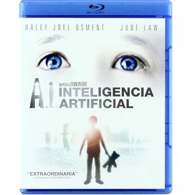 【紅豆百貨】人工智能Artificial Intelligence AI 英語中英文藍光碟BD50 DVD 精美盒裝