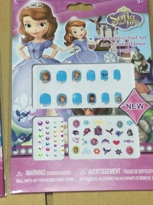 ☆草莓花園☆  兒童女寶寶DIY創意卡通指甲貼 卡通裝扮貼貼紙