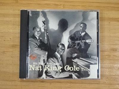 《啟元唱片》納京高三重奏 NAT KING COLE TRIO HIT THAT JIVE, JACK 美國版 片況良好