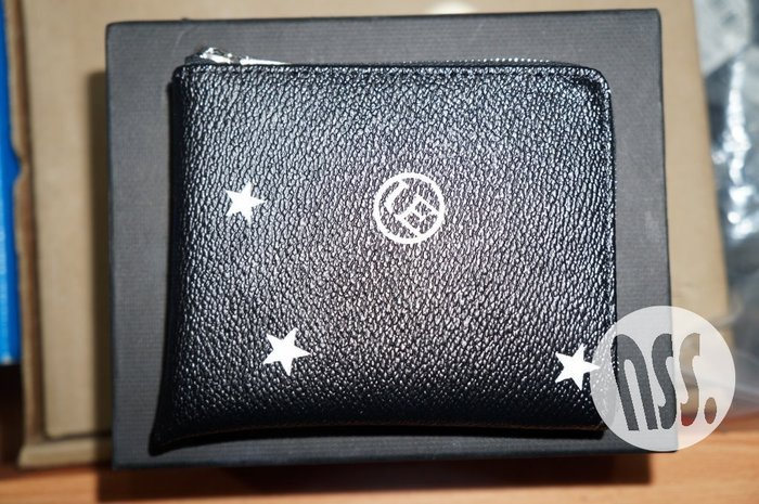 「NSS』Uniform Experiment UE STAR SMALL WALLET 零錢包 黑