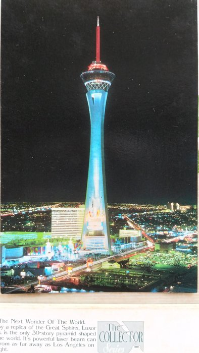 Stratosphere,The tallest free-standing observation tower ……