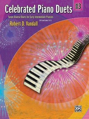 【599免運費】Celebrated Piano Duets, Book 3 Alfred 00-22533