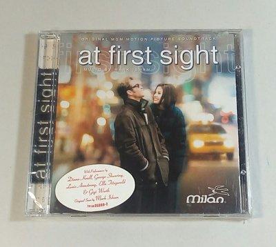 """""""真情難捨 (At First Sight)""""- Mark Isham,全新美版,36"""
