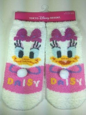 東京家族 日本帶回迪士尼樂園限定黛西 毛絨襪子