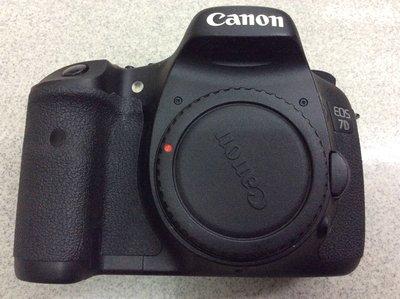 [保固一年] [高雄明豐] Canon EOS 7D 單機身 二手 單眼相機 公司貨 便宜賣 7d2 6d 5d 5d2