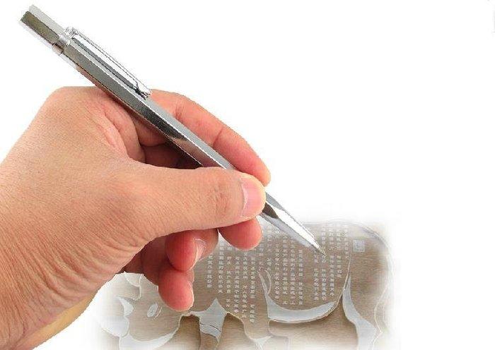 鎢鋼雕刻筆 金剛筆 金剛石刻字筆 玻璃石材刻字 切割 劃線標記號 玉石雕刻筆