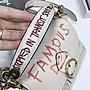 空姐代購 COACH 6892 6894 秋季新款 beat 限量涂鴉 單肩斜挎 鏈條女包 翻蓋郵差包 相機包 附購證