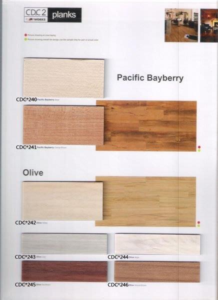 時尚塑膠地板賴桑~ CDC2系列~長條木紋塑膠地板連工帶料$1800元起(訂製品設計款)