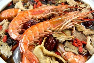 【滋補養生系列】天使紅蝦 L1/ 1尾~教您做燒酒天使紅蝦~品嚐燒酒蝦鮮甜又可滋補養生~溫暖全家人的料理~