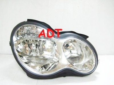 ~~ADT.車燈.車材~~賓士BENZ W203 小改款晶鑽大燈一邊3400 DEPO製